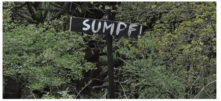 Sumpf-Schild
